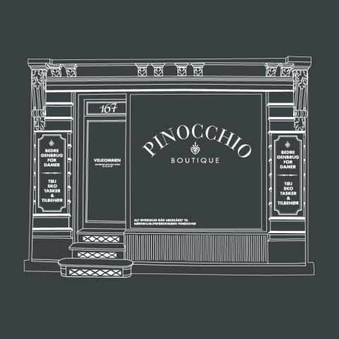 Pinocchio shop